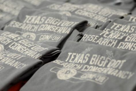 Conference tee-shirts await a new home. Photo: Chris Buntenbah