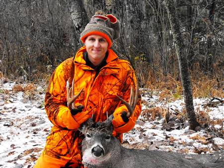 Brandon Lentz is a lifelong hunter and outdoorsman from Minnesota.
